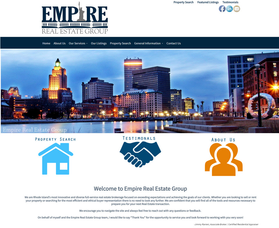 Empire Website