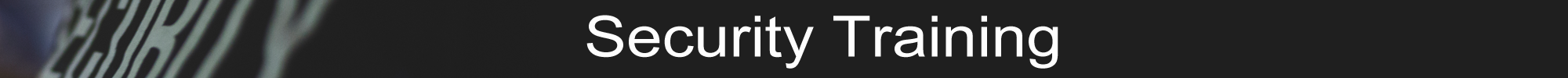 SecurityTraining