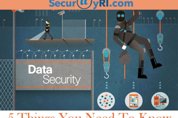 5 Things you need to know about IT Data Security