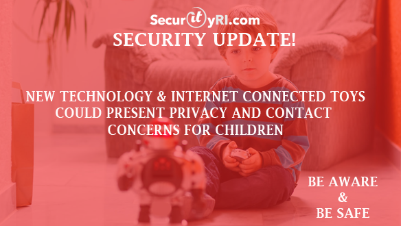 SecurityRI.com Internet Toy Risks