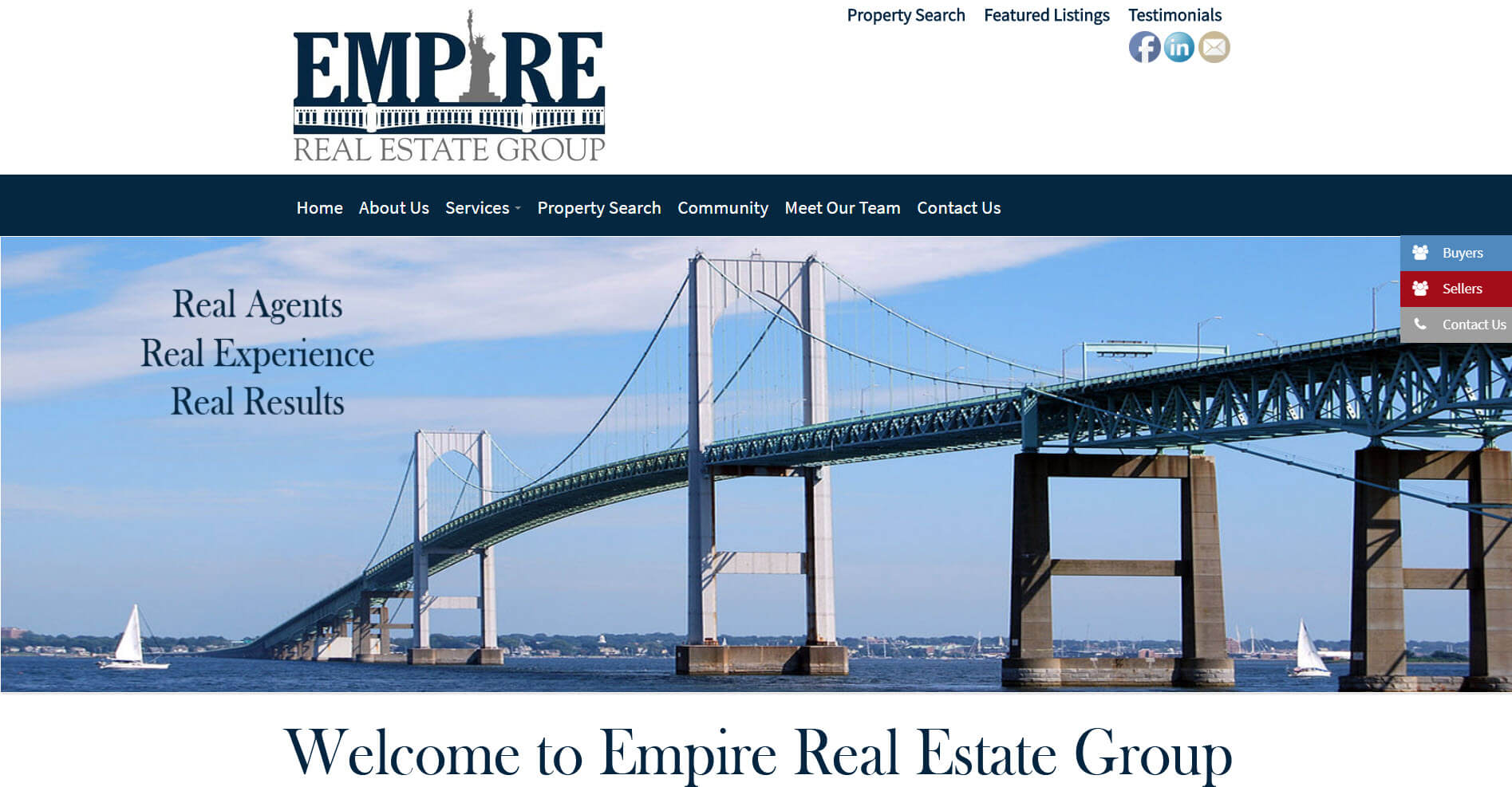 Empire Website Design