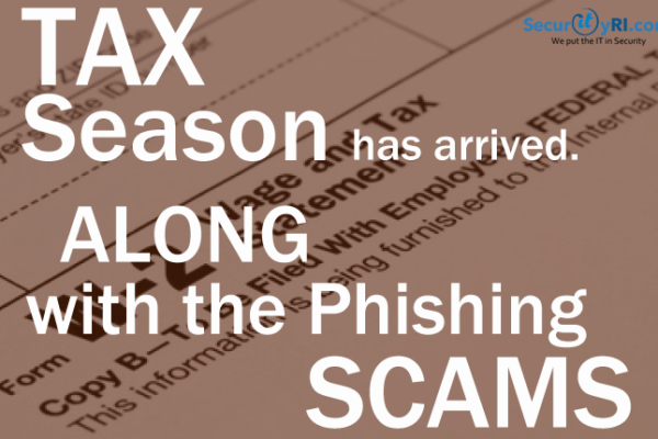 Tax Phishing Scams