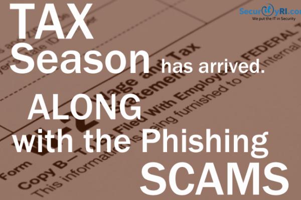 Tax Phishing Scams