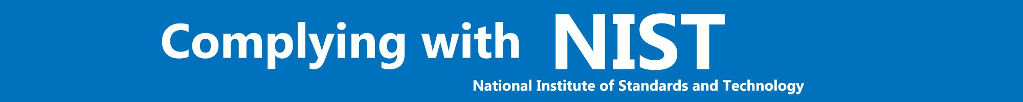NIST Banner