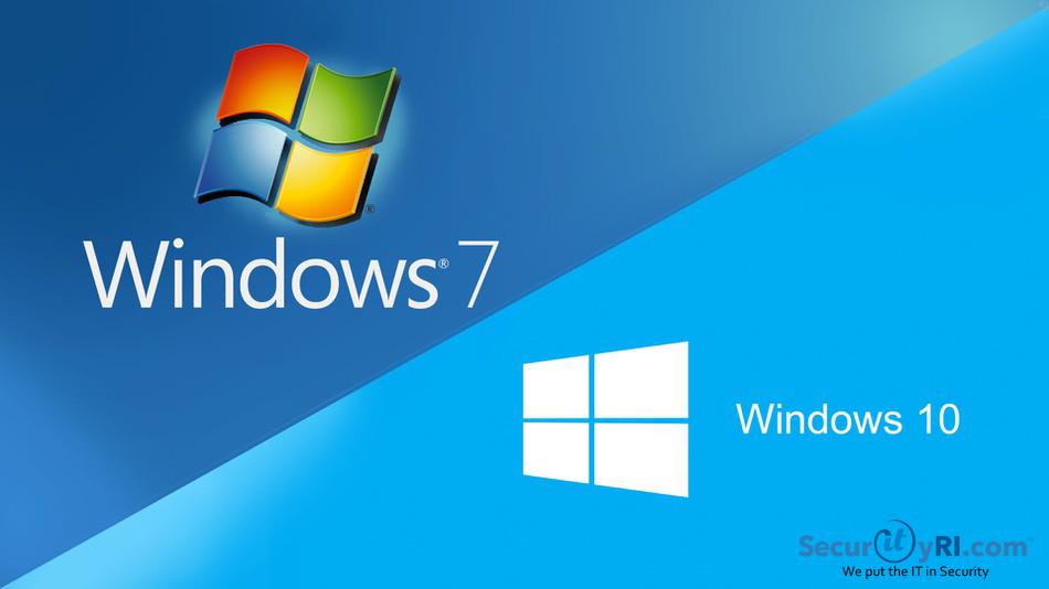 Preparing for Windows 7 End of Life - SecurityRI